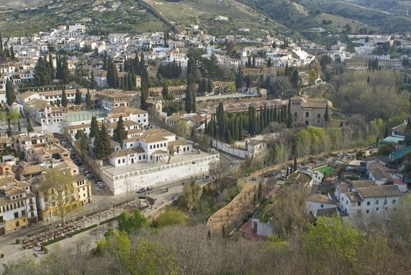 Paseo de Los Tristes Sacromonte_La Alhambra-Granada