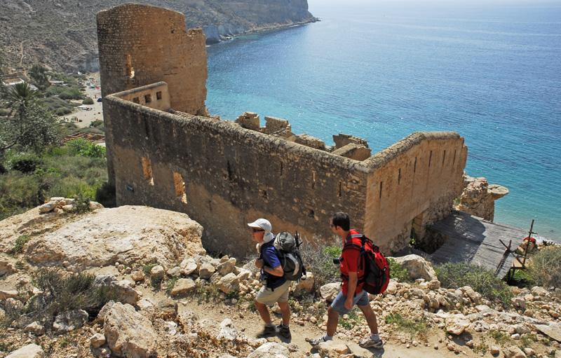 Ruinas del Fuerte de San Pedro, Cabo de Gata, Almería