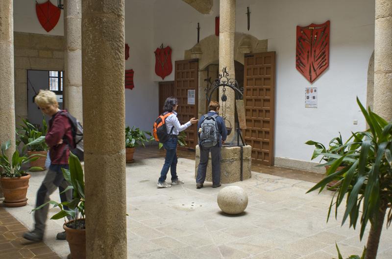 Patio del Palacio de Las Cigüeñas, Cáceres