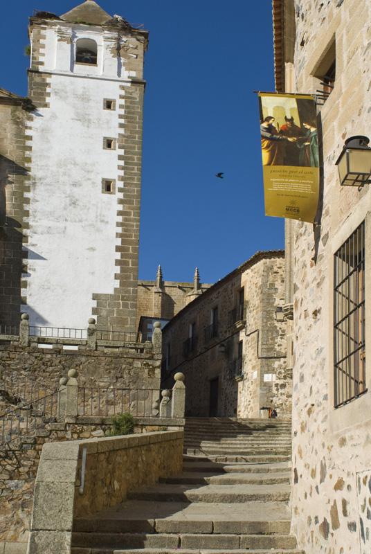 Torre de la iglesia de San Francisco, Cáceres