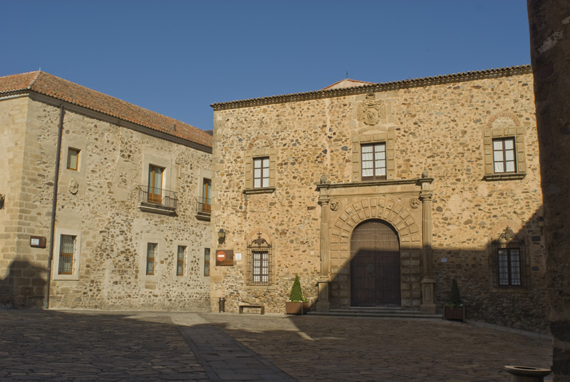 Plaza de Santa María, Cáceres