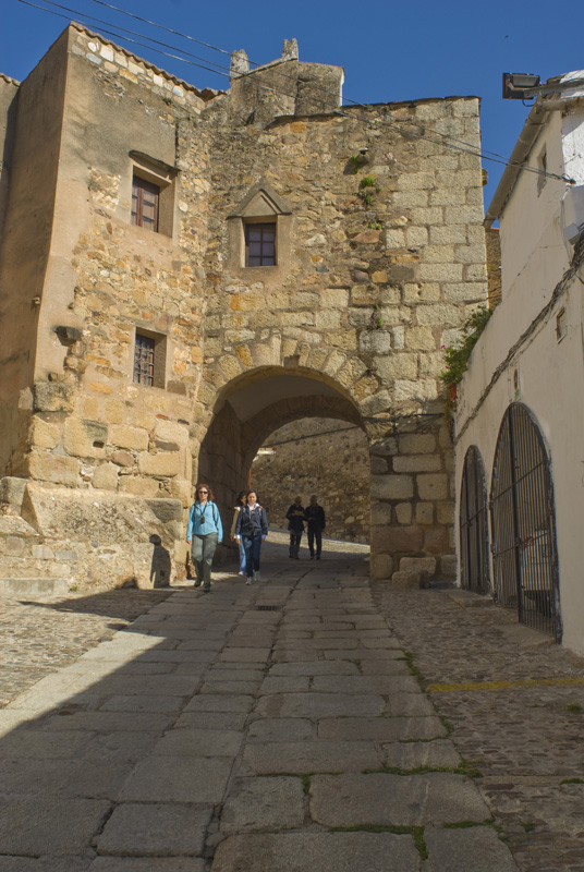 Arco romano, Cáceres