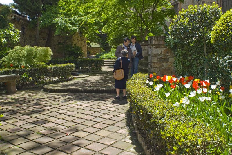Jardines de la plaza San Jorge, Cáceres