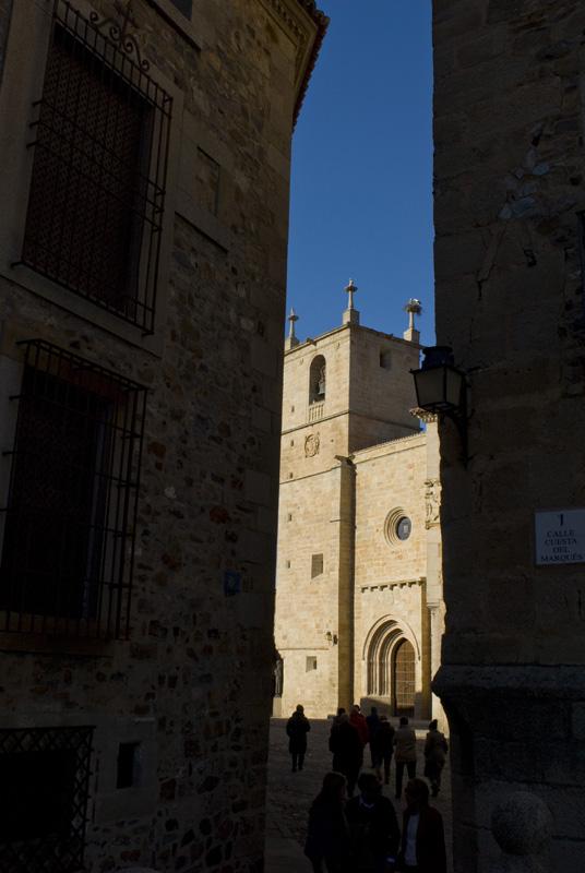 Iglesia contedral de Santa María, Cáceres