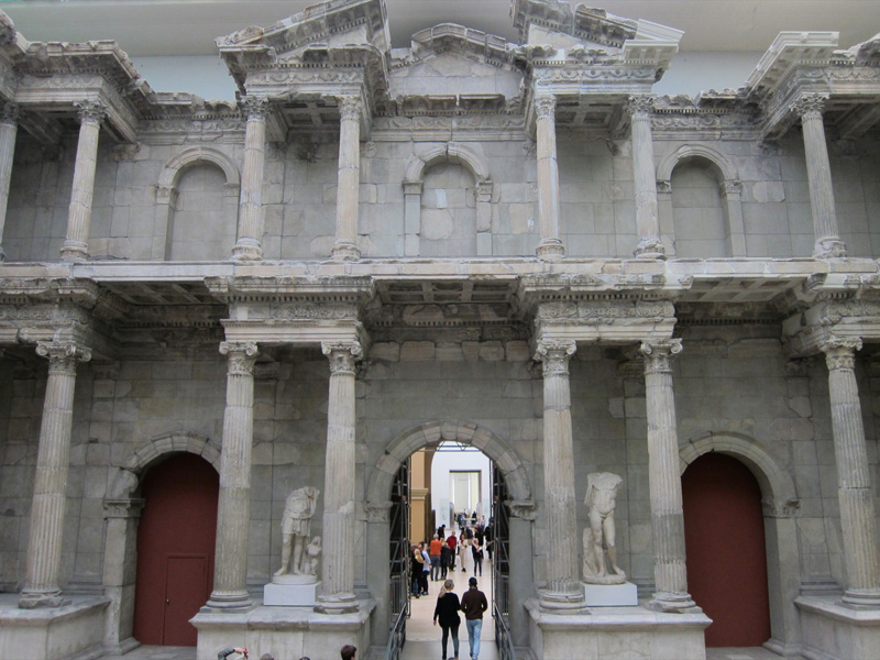Puerta del mercado, Berín