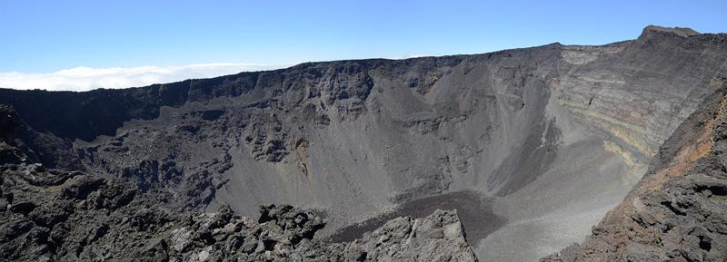 Cráter Dolomieu, Isla de la Reunión
