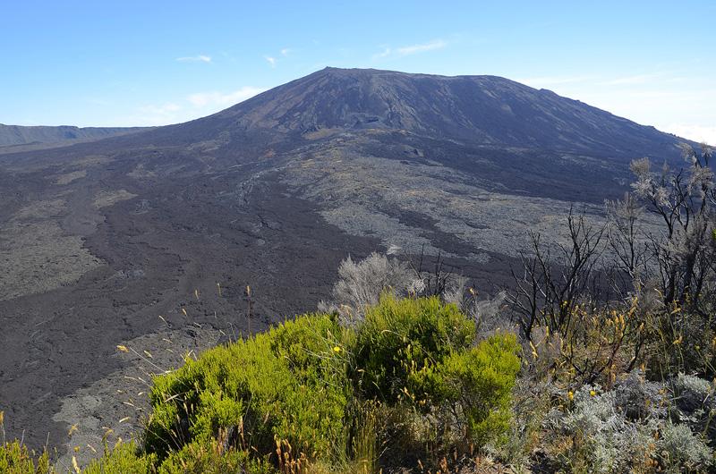 Volcán de la Fournaise , Isla de la Reunión