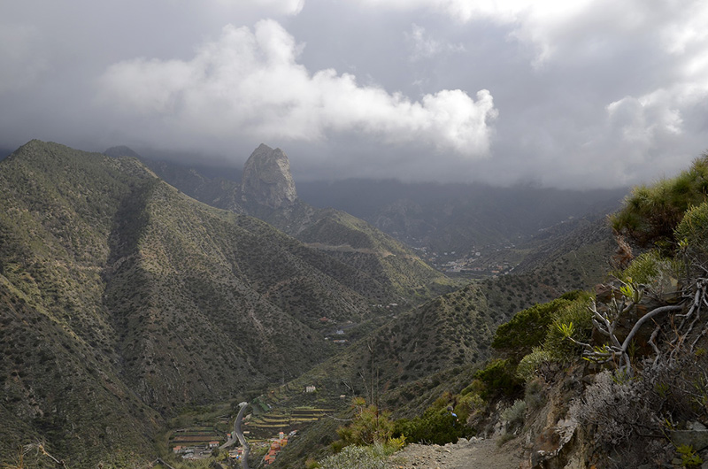 Barranco Vallehermoso, La Gomera