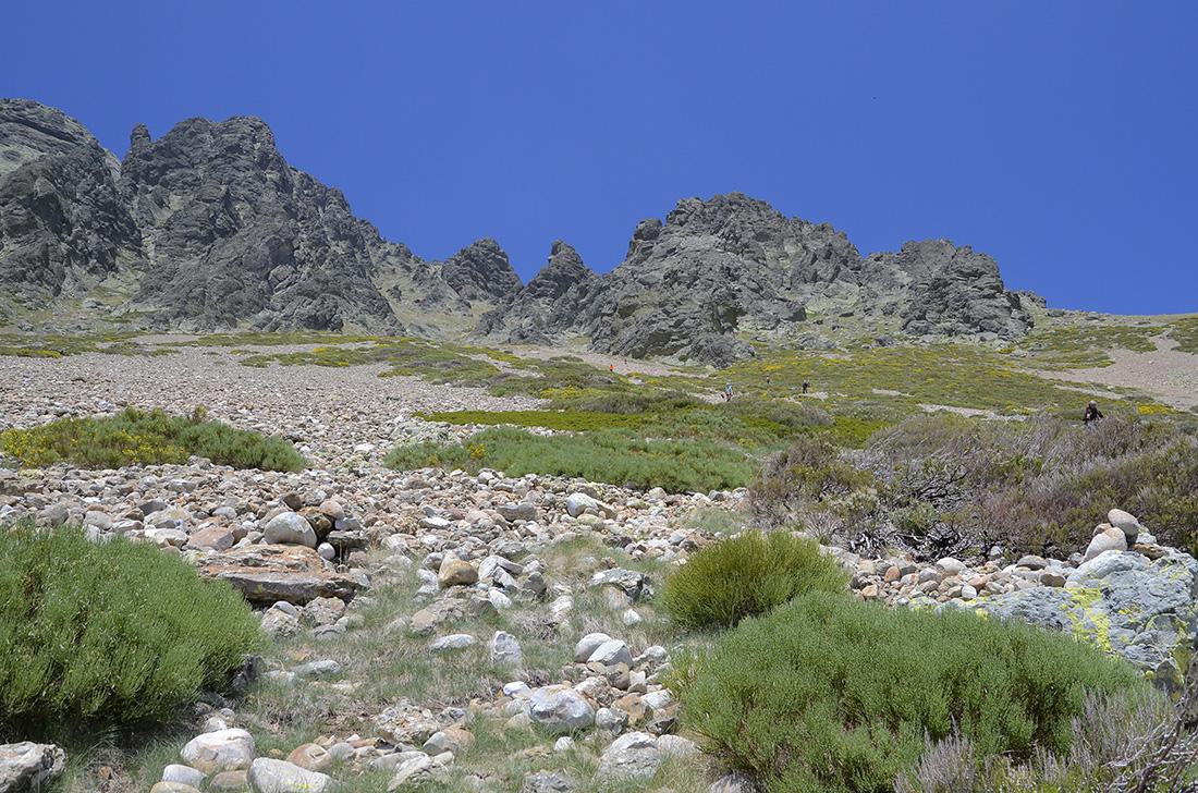 Descenso, Montaña Palentina