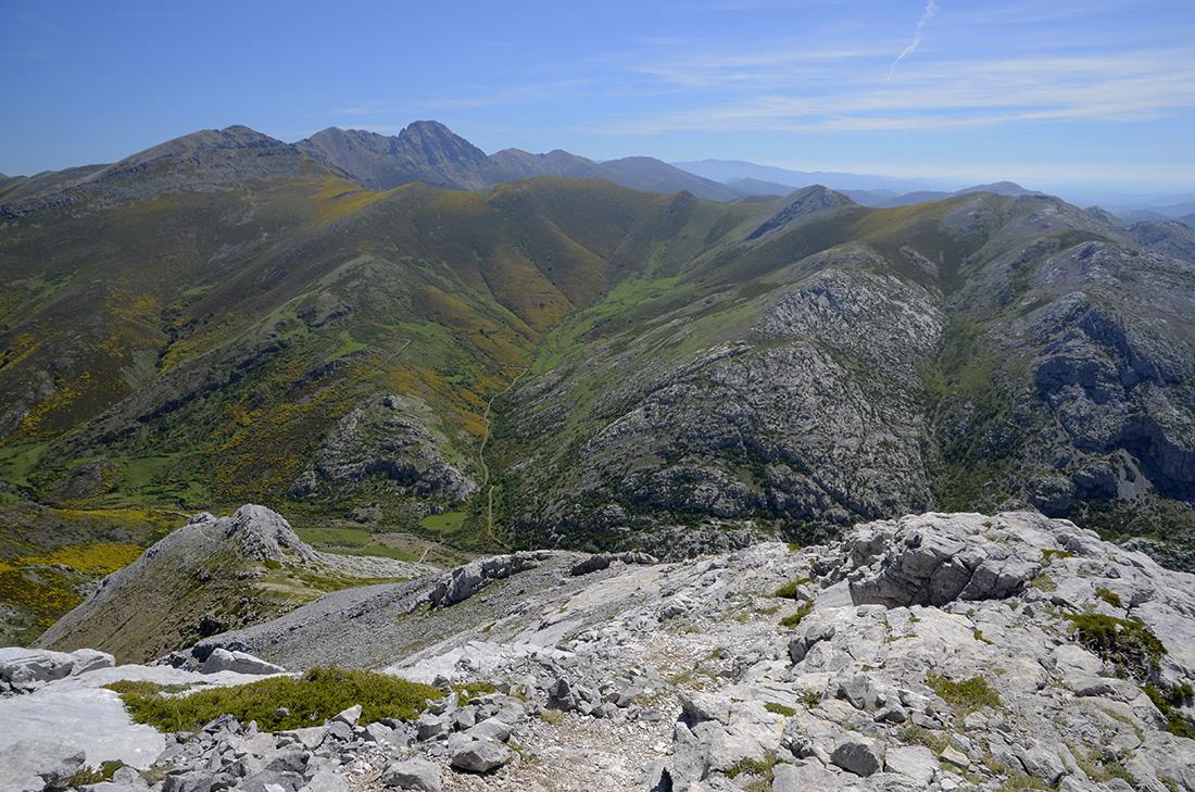 Curavacas al fondo, La Montaña Palentina