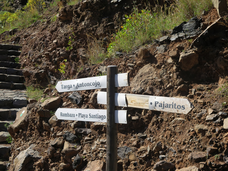La Gomera, ruta Barranco Guarimiar y Barranco Santiago