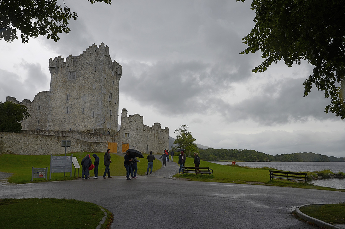 Ross Castle, Irlanda