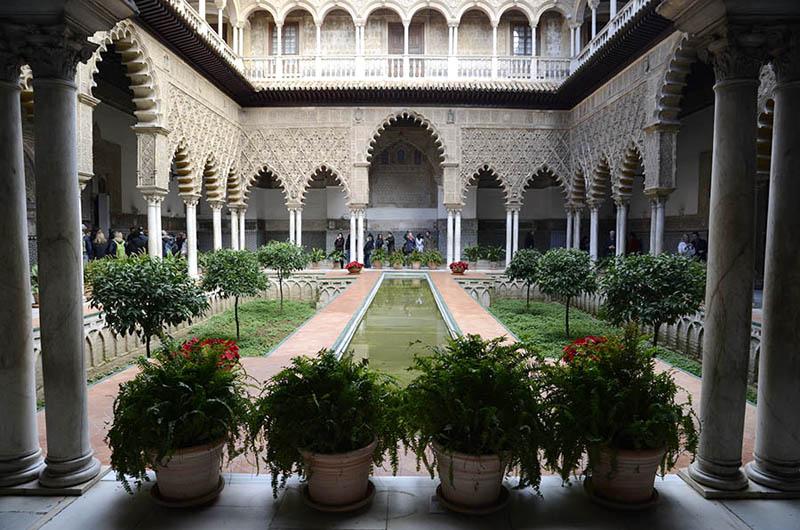 Los Reales Alcácares, Sevilla