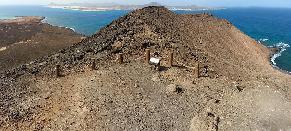 La Caldera isla de Lobos-Fuerteventura