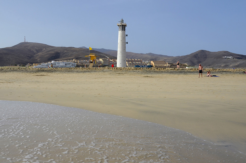 Playa del Faro en Morro Jable-Fuerteventura