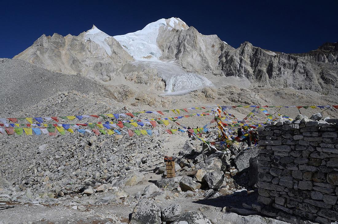 Larke Pass, cordillera del Himalaya, Nepal