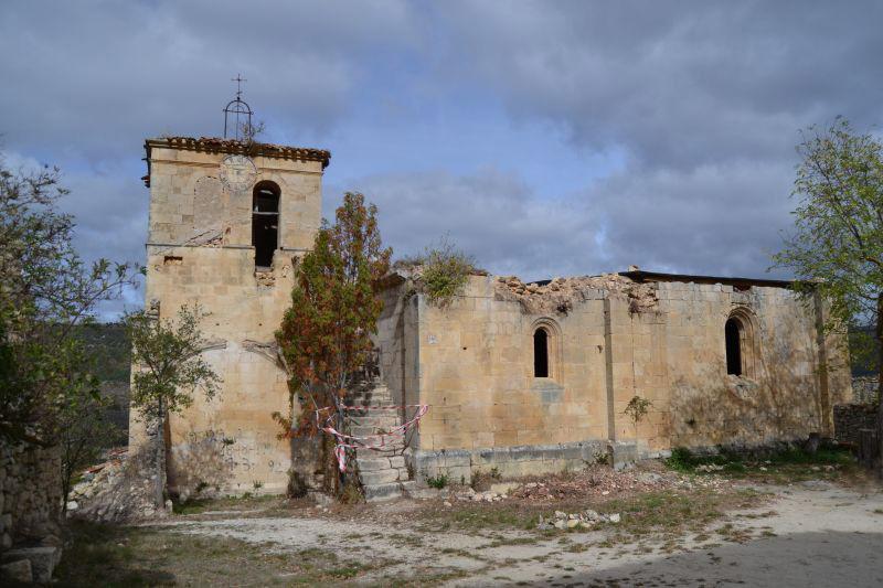 Iglesia de Cortiguera, Burgos