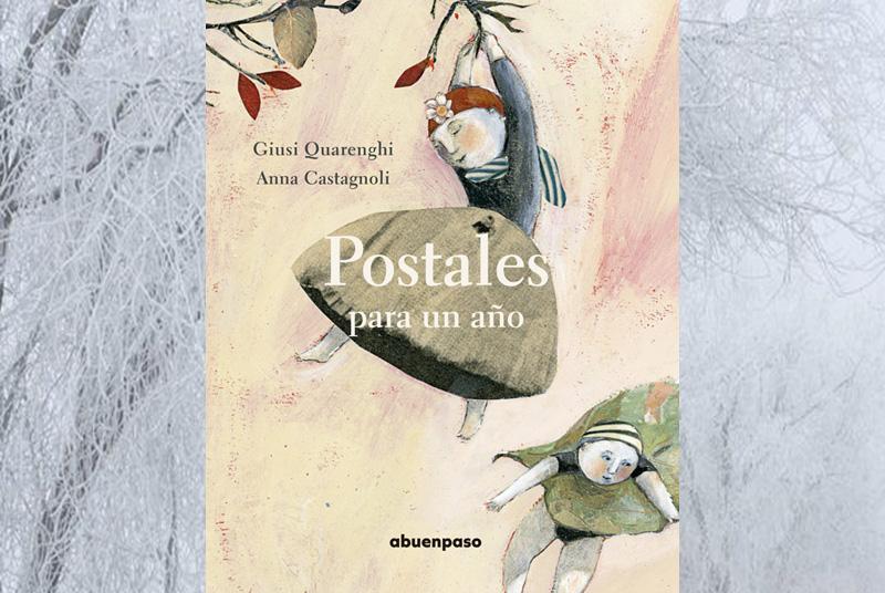 Portada del libro-Postales para un año