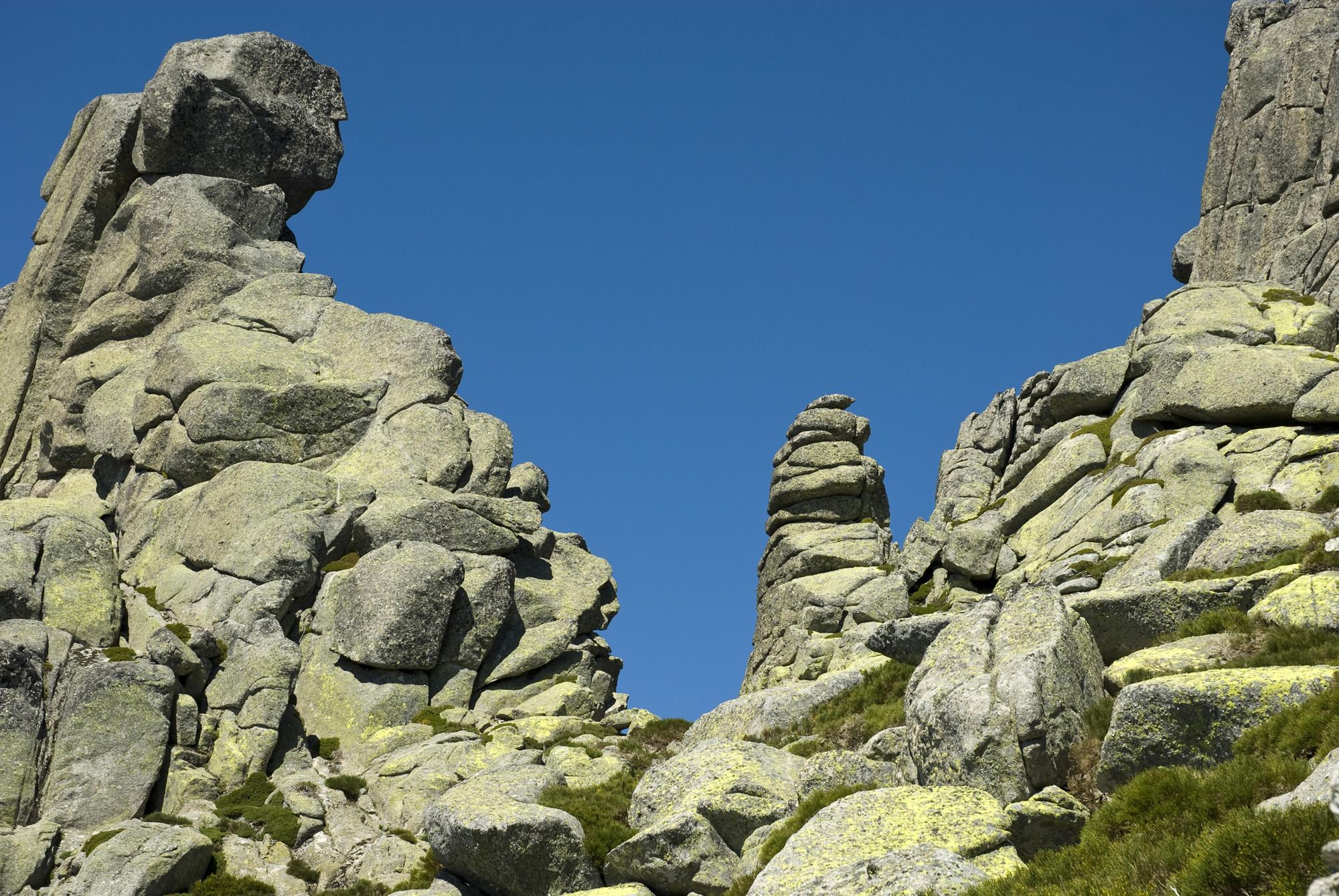 Zona de escalada de Los Galayos-Avila