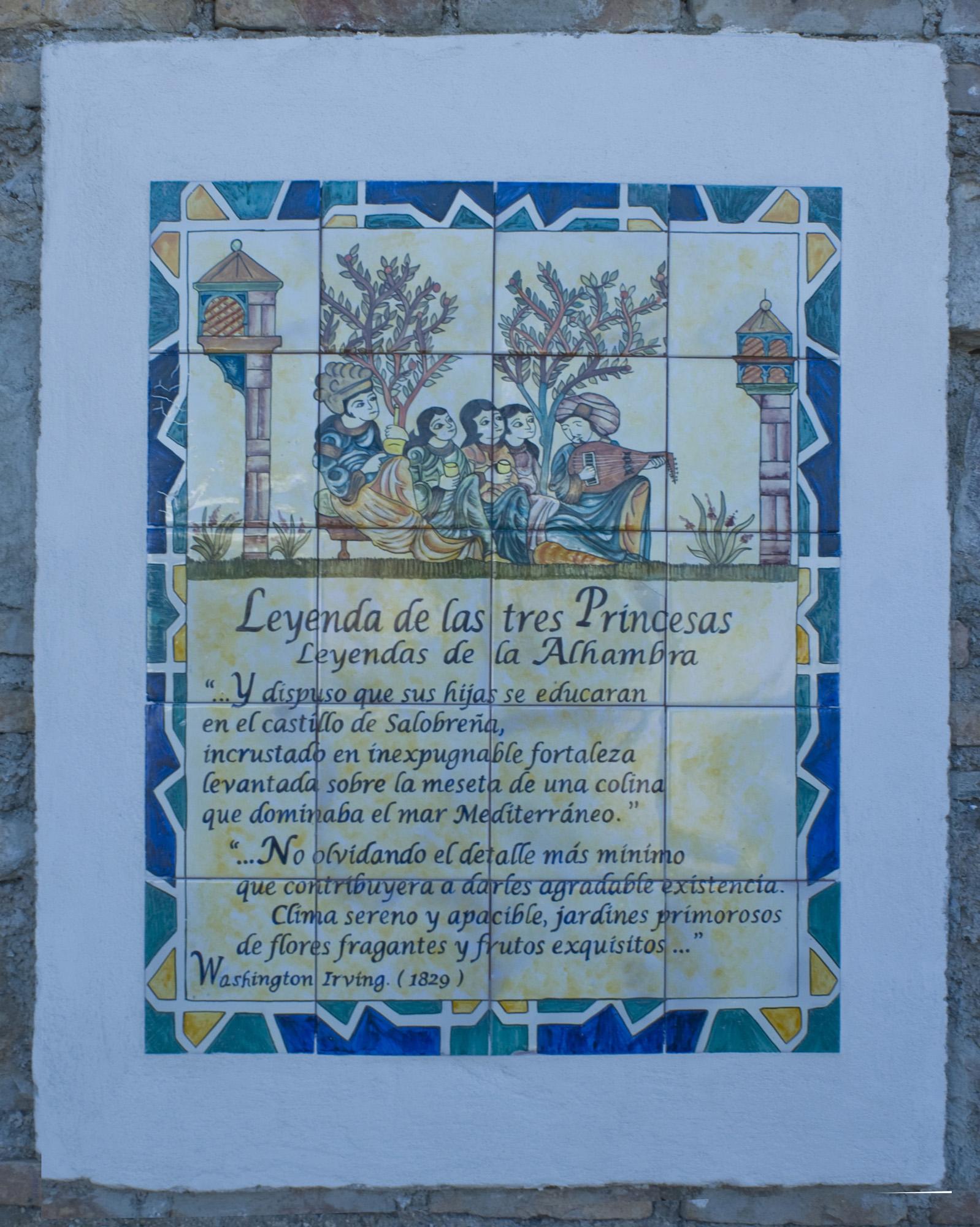 Paseo de Las Flores-Fortaleza de Salobreña-Granada