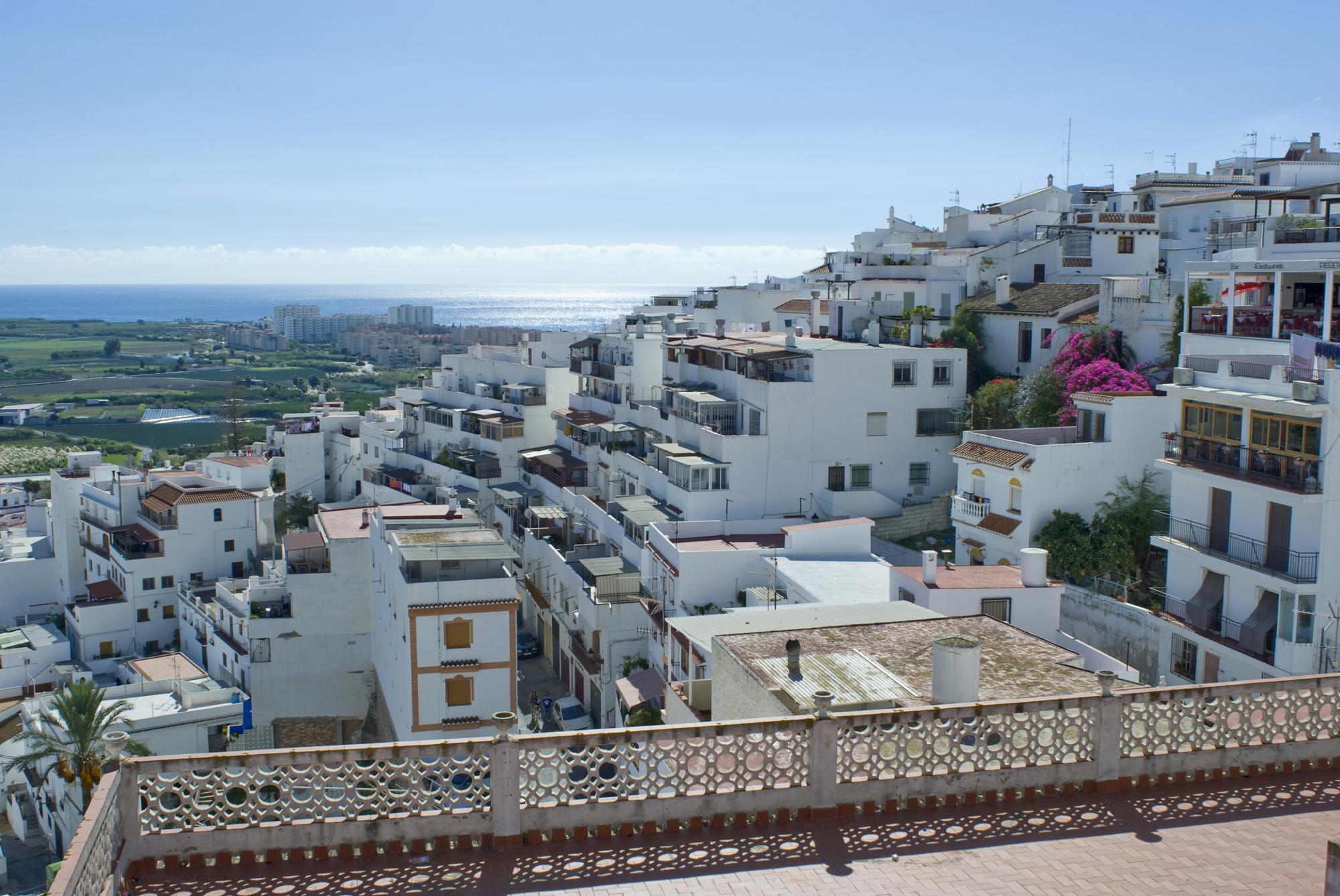 Panorámica de Salobreña, Granada, Andalucía