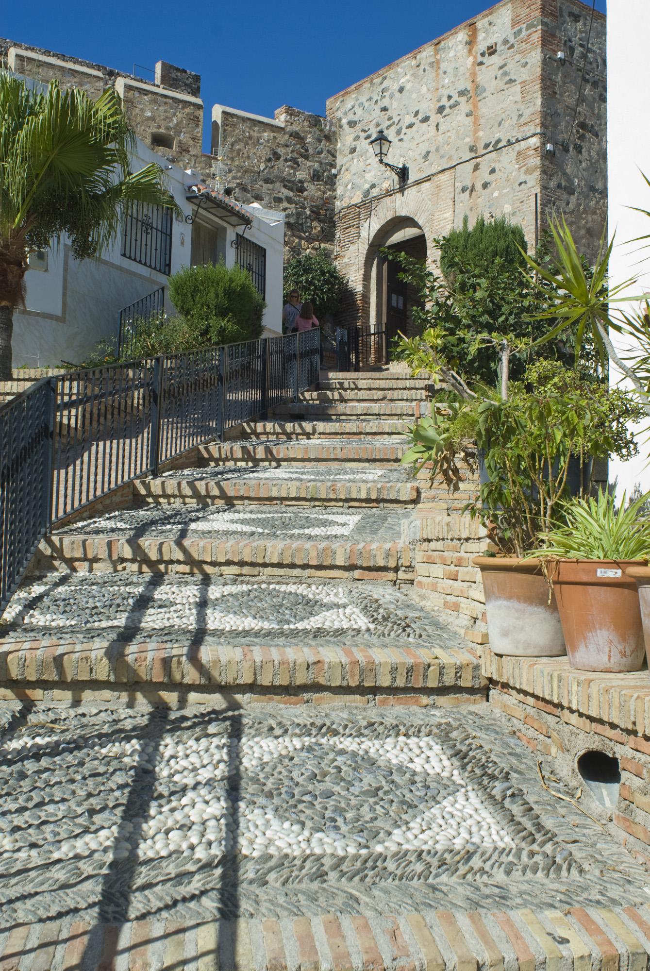 Puerta de acceso a la fortaleza-Salobreña-Granada