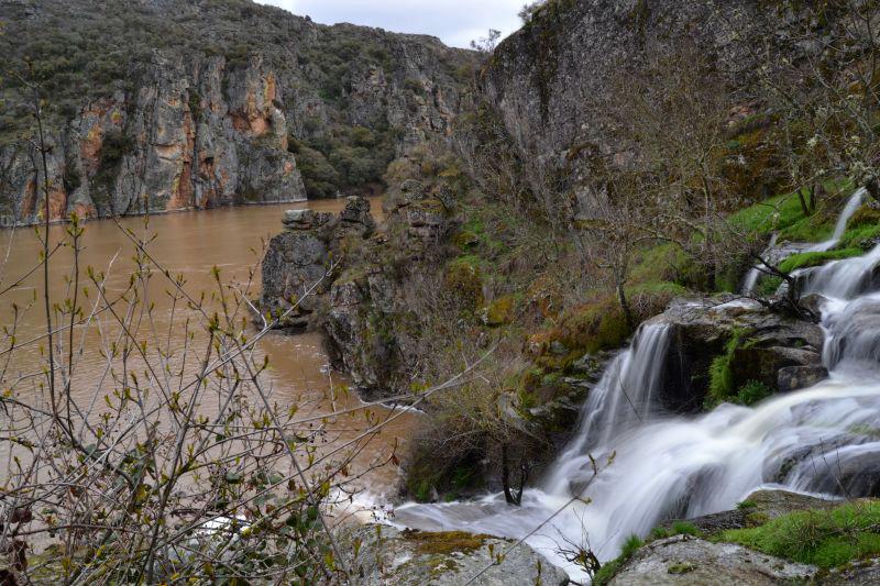 La ribera del Duero. Abelón y Faia da agua alta
