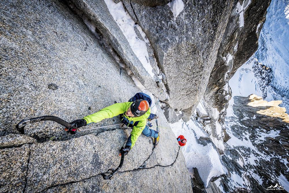 VENT DU DRAGON - DUMAS MATHIS (FRANCIA) - Mención de Honor: Alpinismo y Deportes de Invierno