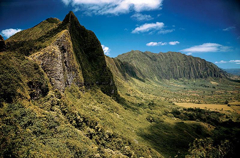 Acantilados de los Pali. Qahu. Hawái
