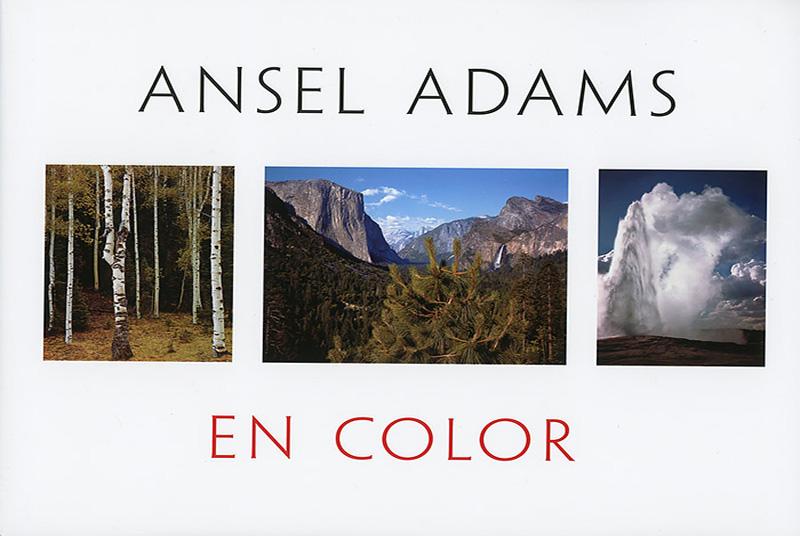 Portada del libros-Ansel-Adams en color