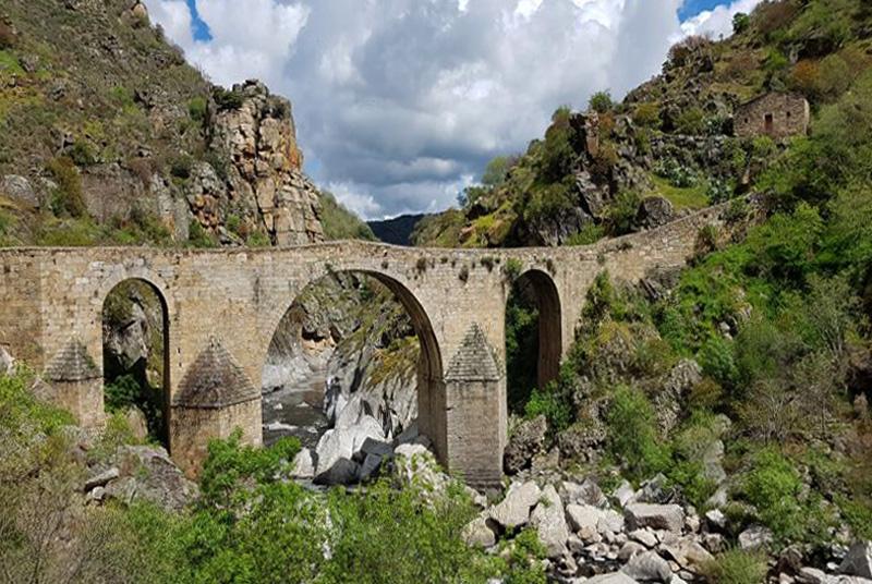 Puente de los Franceses, río Águeda-Salamanca