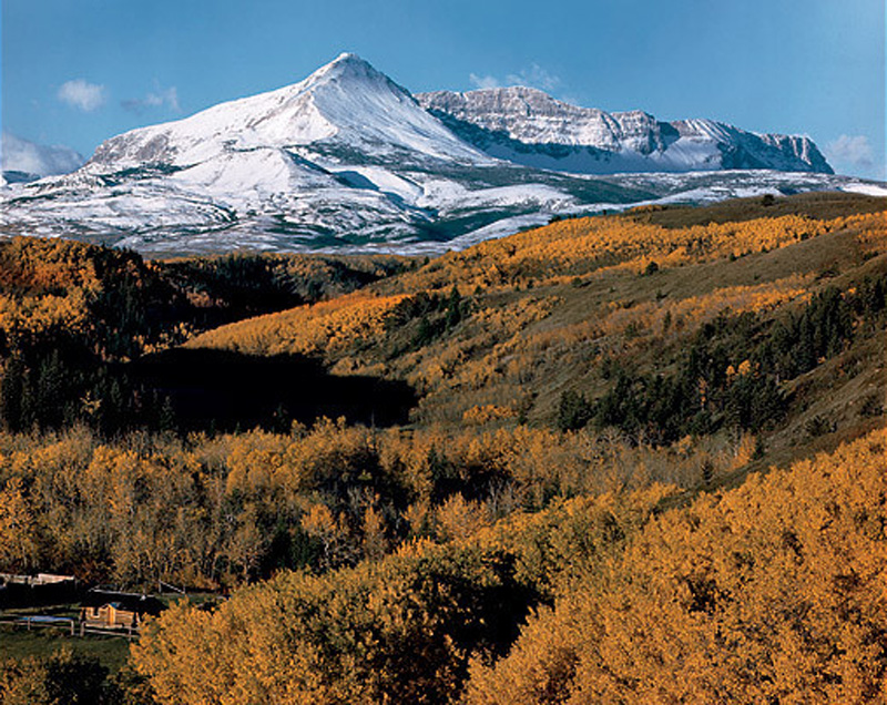 Yellow Mountain, Parque Nacional de los Glaciares