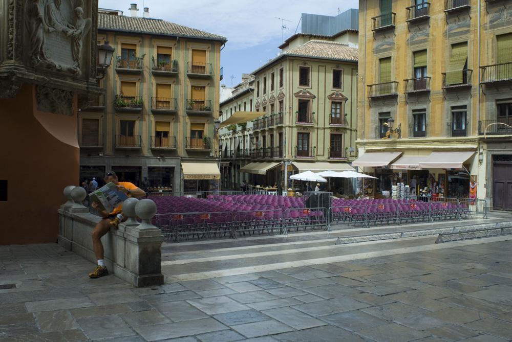 Plaza de Las Pasiegas-Granada