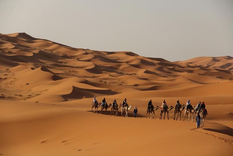 CARAVANA ERG CHEBBI, Marruecos