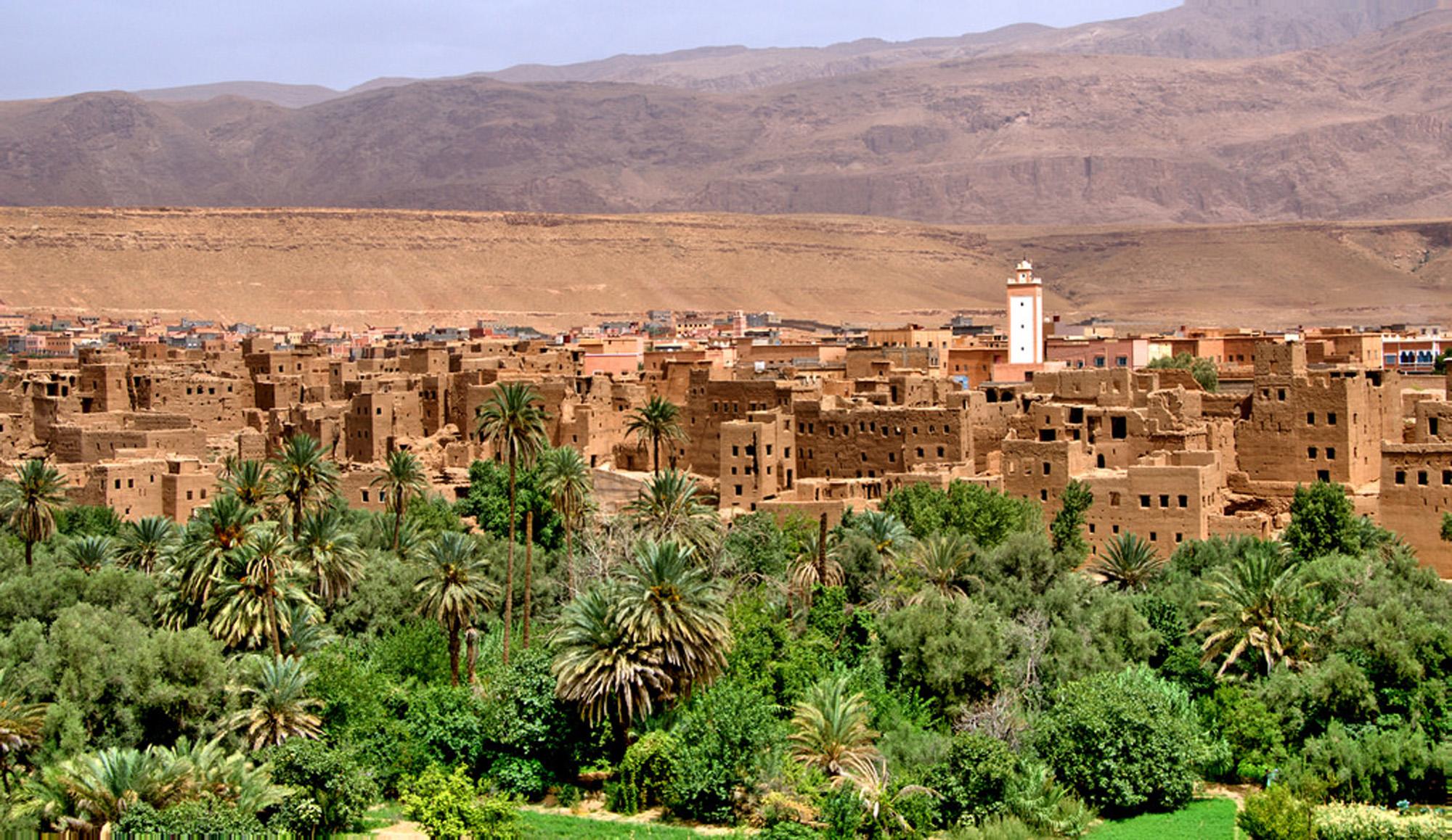 Oasis de Tinghir-Marruecos