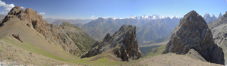 Paso Kara-Suu 3.660m-Kirguistán
