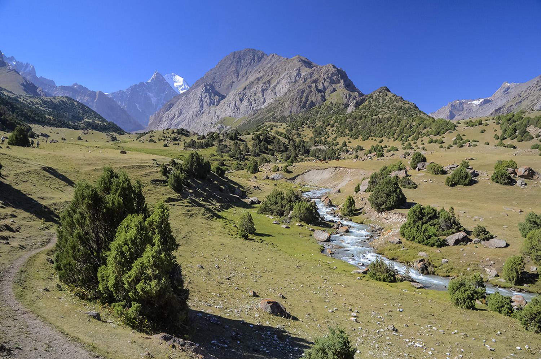 Valle del río Ak Mechet