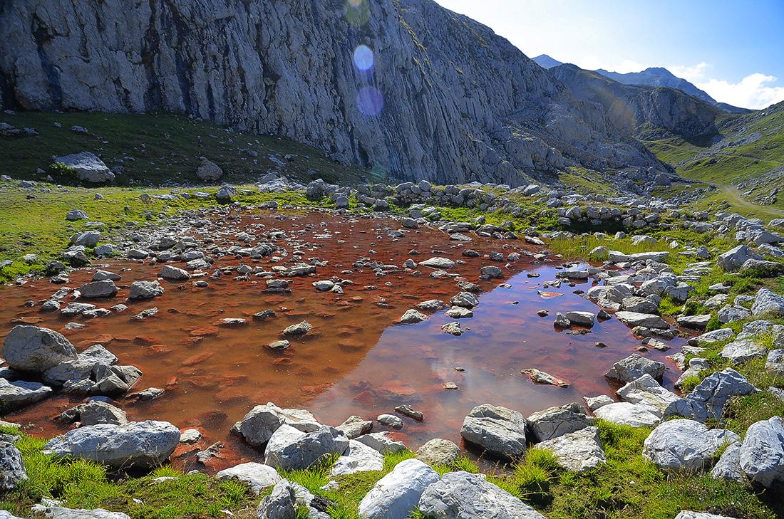 Residuos mineros-Picos de Europa
