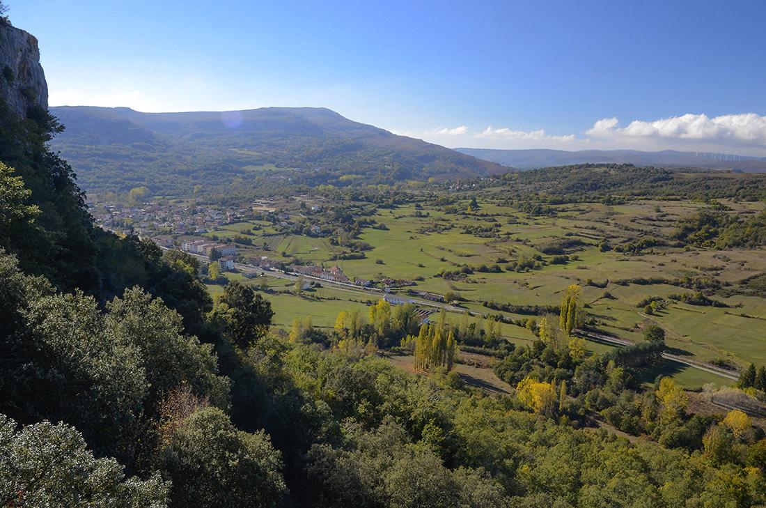 Subiendo desde Pedrosa-Burgos