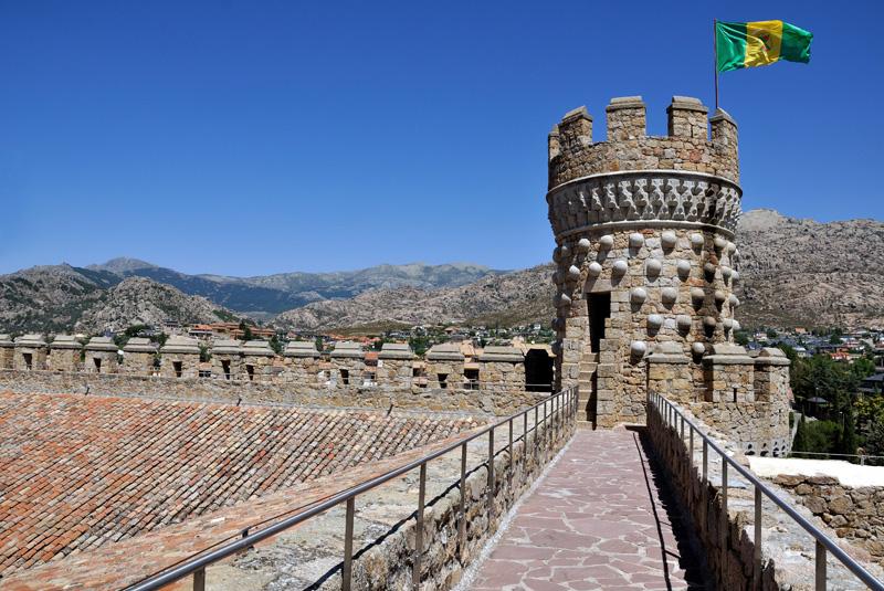 Castillo de los Mendoza-Madrid