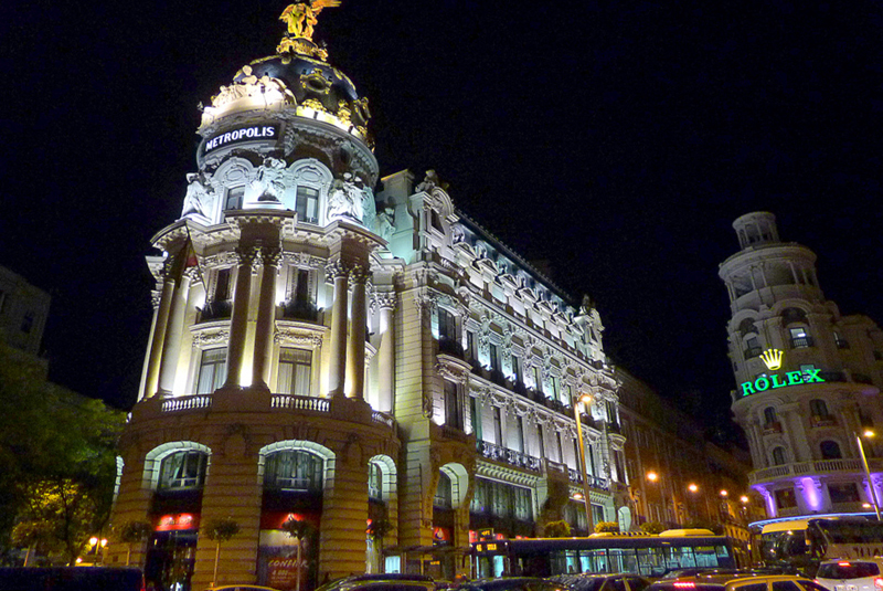 Calle Alcalá-Madrid