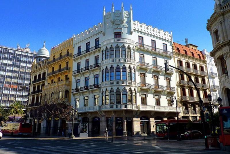 Arquitectura modernista-Valencia