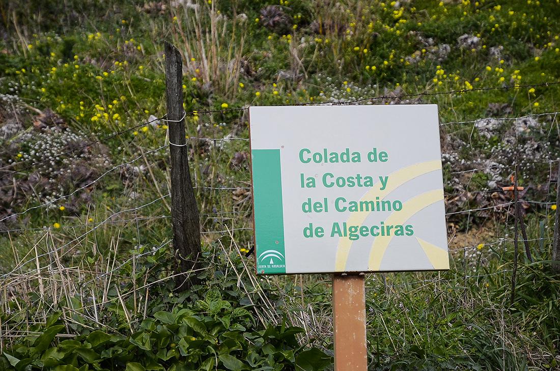 Cartel indicador-Cádiz