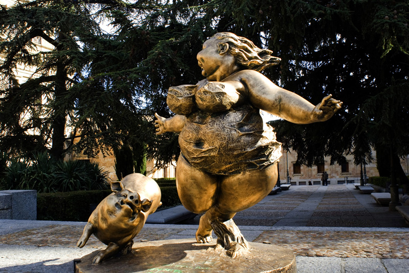Esculturas Chinas Salamanca