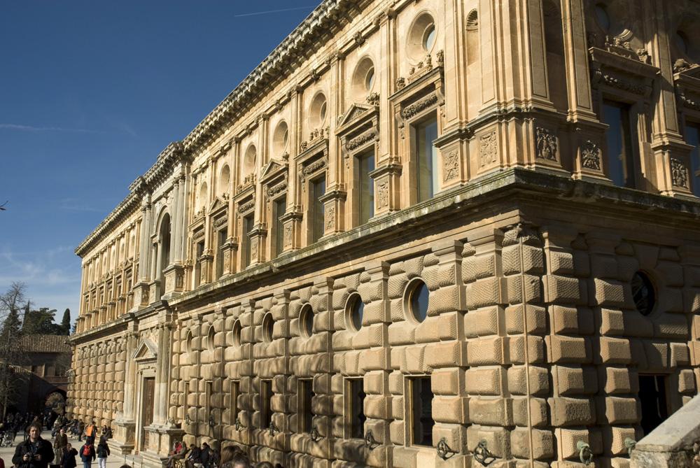 Palacio de Carlos V-Granada