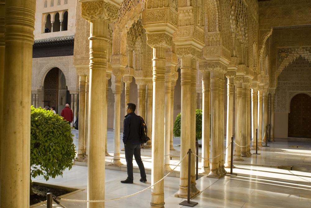 Patio de los Leones-Alhambra-Granada