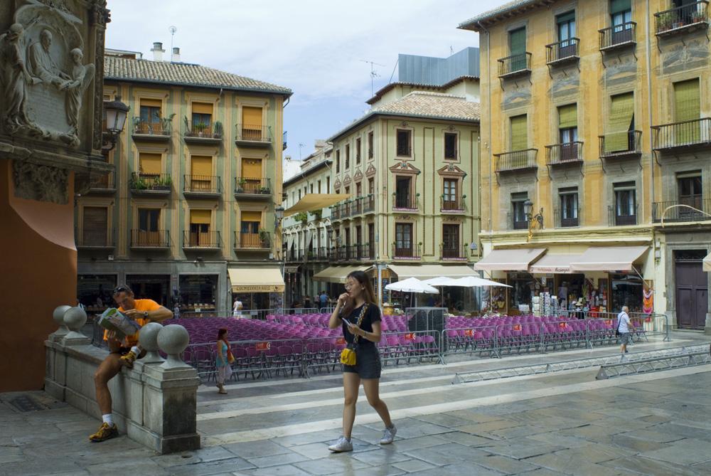 Plaza de Las Pasiegas-Granada.