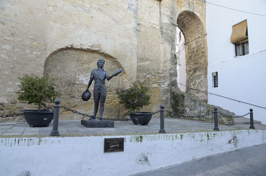 Estatua de Juan Relinque