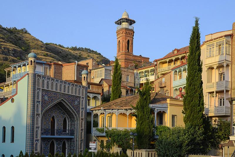 Mezquita Central de Tbilisi-Georgia-Cáucaso