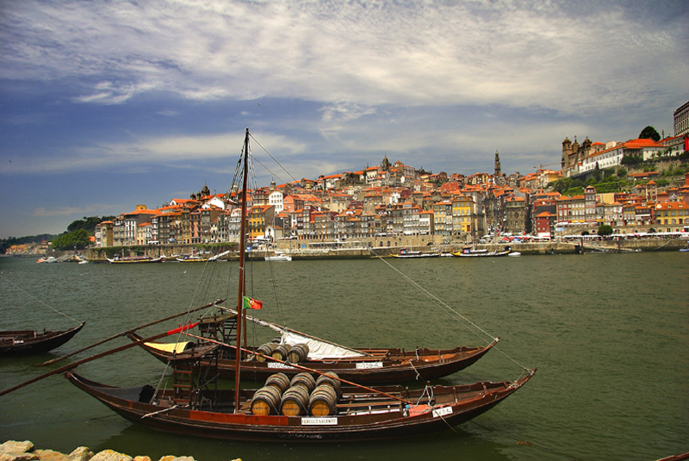 Río-Duero-Oporto-Portugal